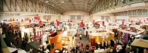 Exhibition space at CTICC