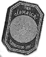 ECN 092013_NTL_Tradeshow history_(1891) The Great Exhibition of 1891 in Jamaica_ Season Pass for Admission