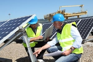 A Qatar solar energy project