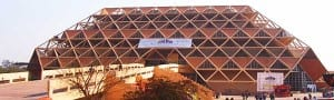 India anxiously awaits new convention centre