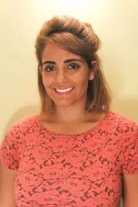 Gabrielle Khaled, one of the 2013 winners of the Eventice competition, now works at George P. Johnson