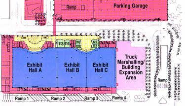 Broward County Convention Center Floor Plan - 1st floor