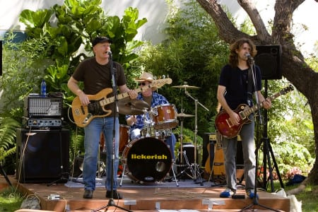 Charitable tradeshow firms give industry a good name-Lickerish band with Tom Bowman