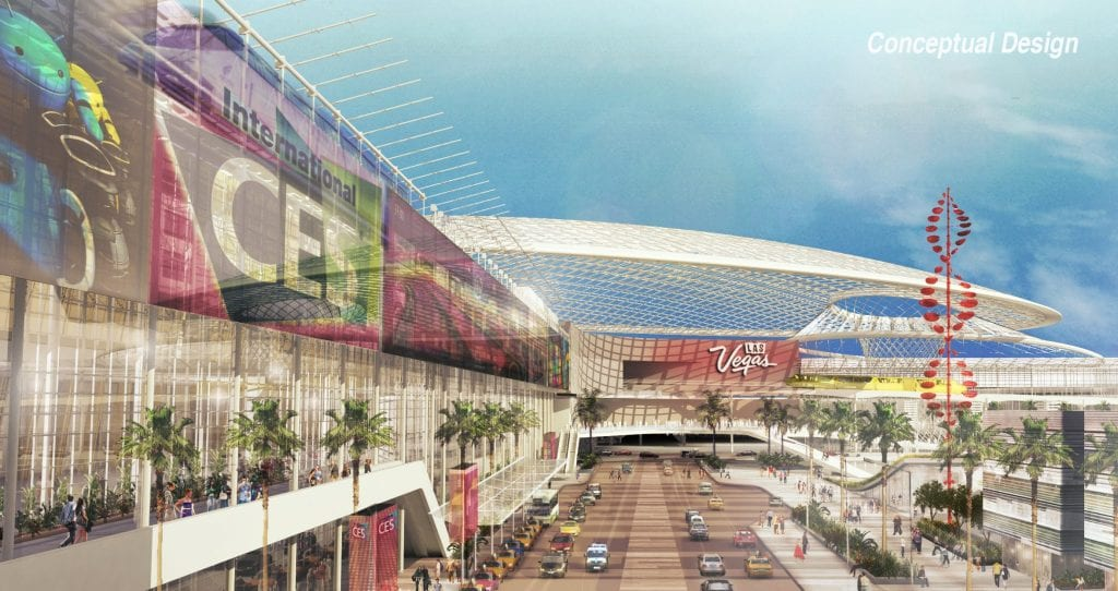 Upgrades planned for las vegas convention center exhibit for Global design firm