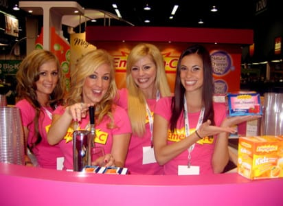 CMT Agency provides local booth staff