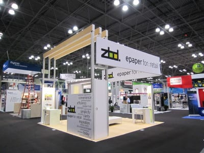 20' x 20' ZBD Solutions exhibit wins at  Event Design Awards