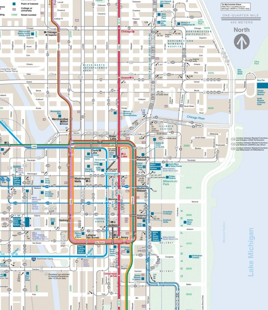 What Is The Chicago Loop Map