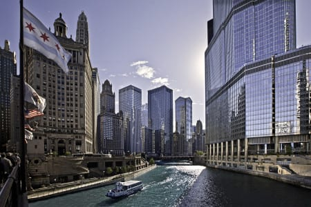 Chicago River. Photo credit: Choose Chicago