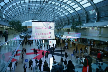 EuroShop 2014 surpasses 100,000 visitors.