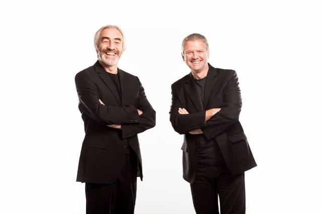 Patrick M Delaney [Left] and Pádraic Gilligan [Right]