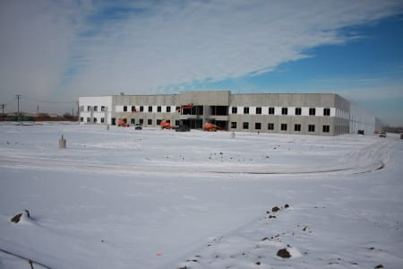 Completion of the Woodridge, Ill., facility is planned for May 2014.