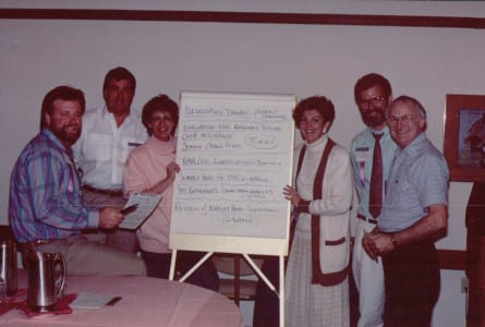 EDPA plan meeting in 1988