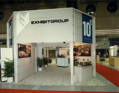#TBT_ Exhibit Group booth at first TS2_121114