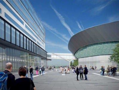 Projection of Exhibition Centre Liverpool