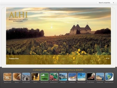 ECN 022014_NTL_ALHI -- Associated Luxury Hotels International New iPad App  2-14