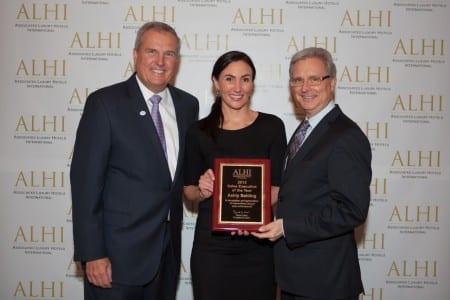 ECN 022014_POM-ALHI - Ashly Balding Named '2013 ALHI Sales Executive of the Year'