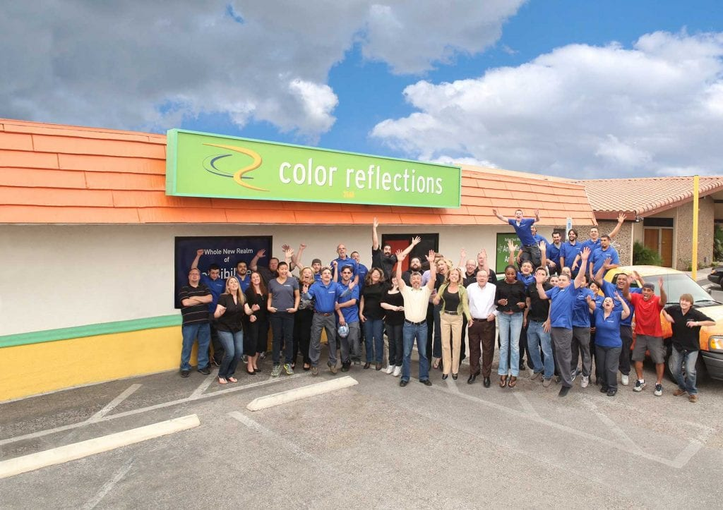 Color Reflections Las Vegas Equips Printing Arsenal