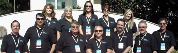 Several members of the EDPA Las Vegas Chapter, including Exhibit City News publisher Don Svehla.