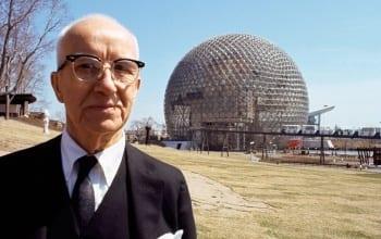 "Buckminster Fuller - 1967 Montreal World's Fair, ""Man and His World"""