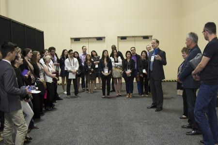 EXHIBITOR2014 FIT student tour
