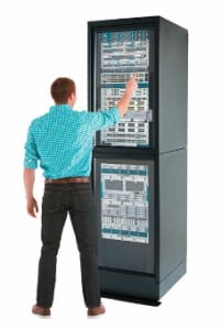 A virtual rack for easier exhibiting.