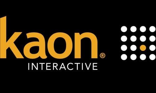 ECN 072014_FTR_Kaon Interactive revolutionizes mobile exhibiting_Kaon Interactive logo