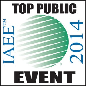 ECN 072014_ASSOC_IAEE 2014 Top Public Event logo