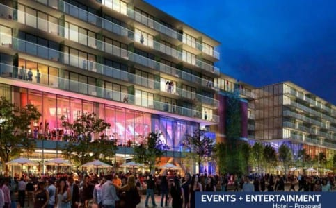 Proposed Navy Pier hotel may contain 150-225 rooms.
