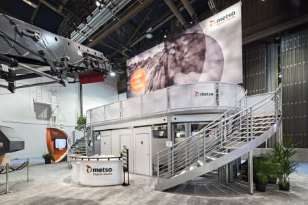 Metso uses ExpoDeck for 2014 Conexpo-Con/Agg.