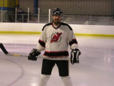 Williams was passionate about playing hockey.