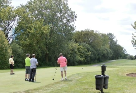 Golfers enjoyed a beautiful day at Willow Crest Golf Club.