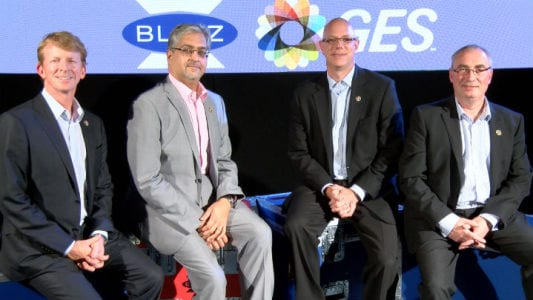 Acquiring UK-based Blitz Communications expands GES' A/V services to the UK, Europe and the Middle East.