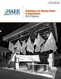 ECN 102014_ASSOC_IAEE updates display rules and regulations guide