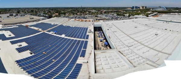 ECN 102014_SW_Anaheim Convention Center solar ray system_Panorama