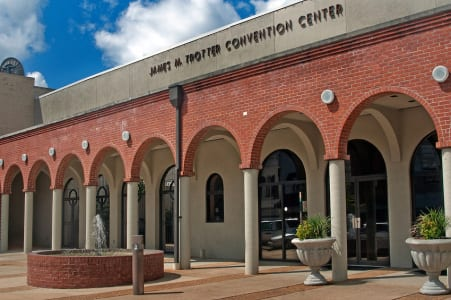 James M. Trotter Convention Center (Photo by Carmen K. Sisson/Cloudybright)