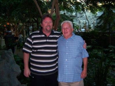Jeff Rowe and Dick Bialczak