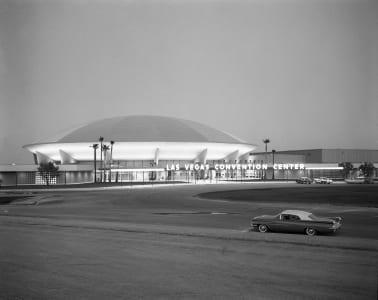 Las Vegas Convention Center, dated June 29, 1959.  Photo credit: Las Vegas News Bureau