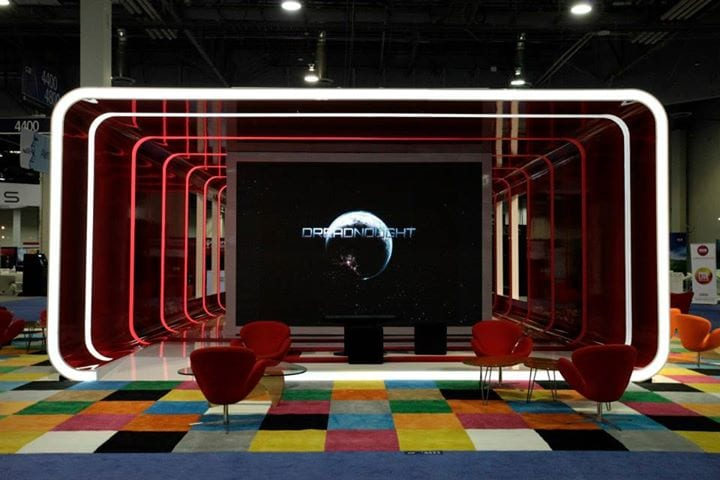 Circle TPR-designed booth for a client at Global Gaming Expo 2014
