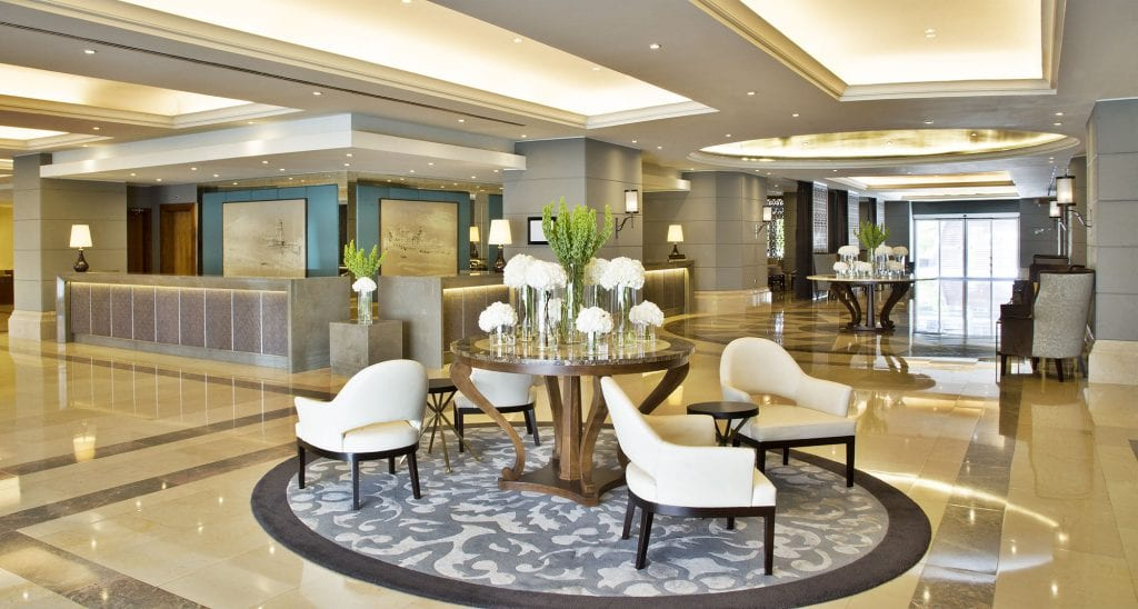 recognized for excellence corinthia hotel lisbon lobby reception