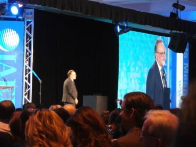 """Outgoing IAEE Chairperson Jonathan """"Skip"""" Cox"""