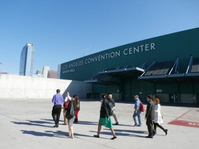 A tour of the Los Angeles Convention Center during Expo! Expo!