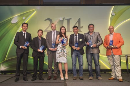 Seven distinguished vendors lauded during second Sands Supplier Excellence Awards Winners for Sands Supplier Excellence Awards 2014.