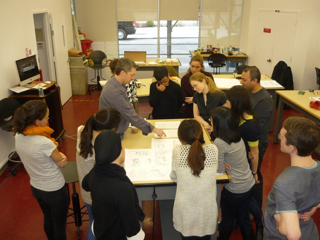 Rob Majerowski of MG Design offers real-world advice to graduate exhibit design students.
