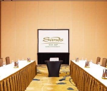 Sands ECO360° Meetings Program offer a low environmental footprint.