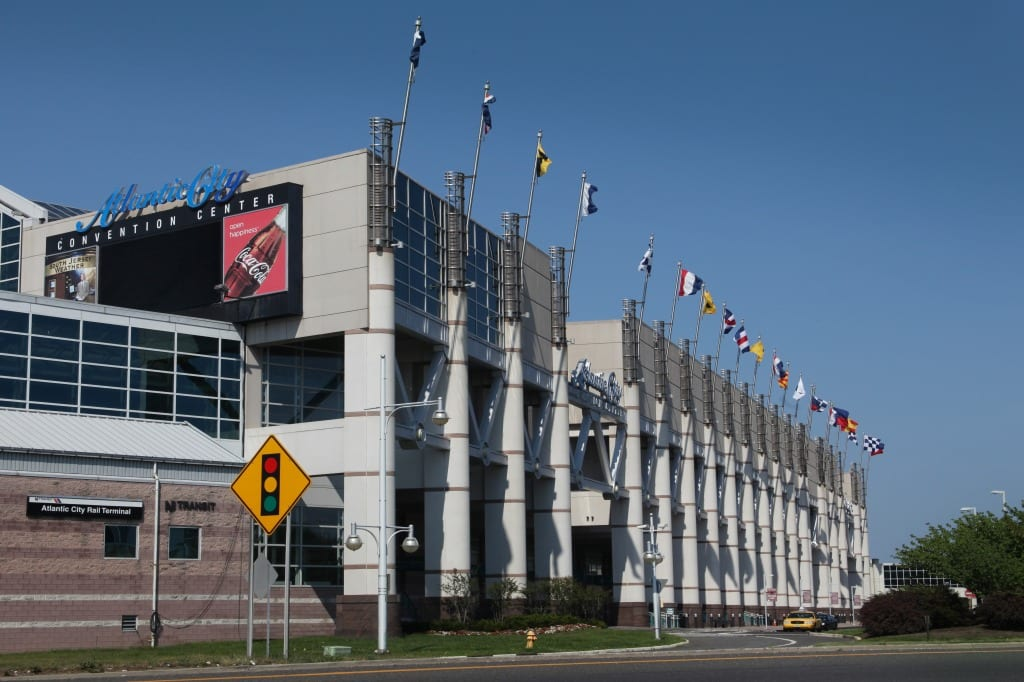 The Atlantic City Convention Center has one of the highest client return rates in the country of 65 percent in 2014.