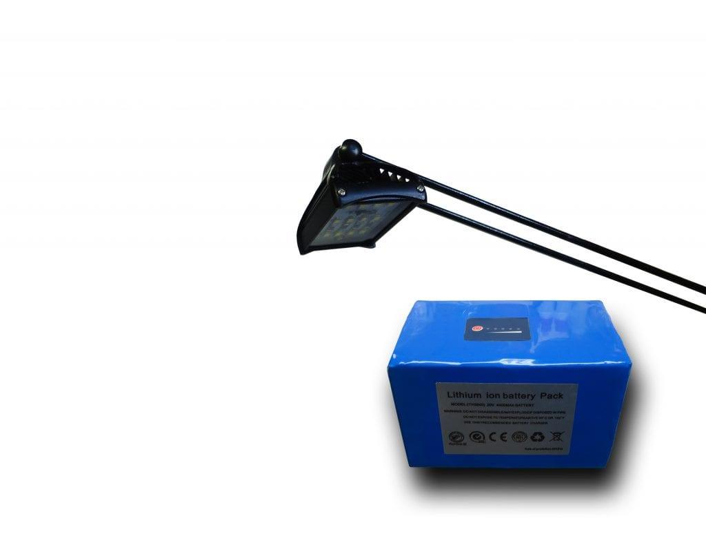 Showbattery Show 6 Led Light & Battery Kit