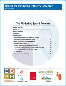 ECN 032015_ASSOC_CEIR Marketing Spend Decision Report