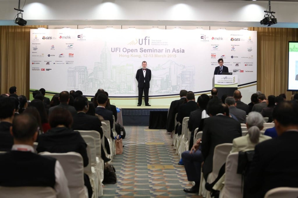 The Asian region comprises one-third of UFI's global membership, according to Managing Director Paul Woodward.