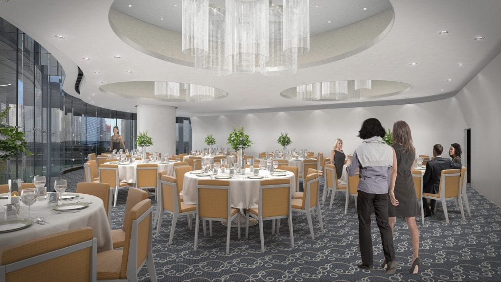 Trump Chicago adds 3 event spaces for corporate and special events.