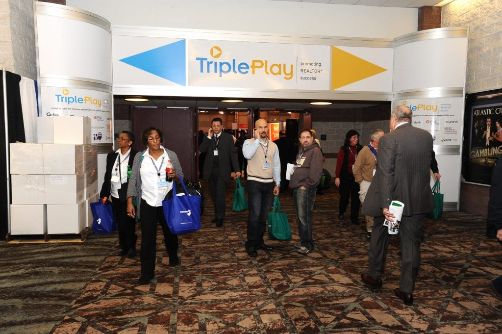 The annual Triple Play REALTOR Convention and Trade Expo  signed an extension to remain in Atlantic City from 2016-2018.